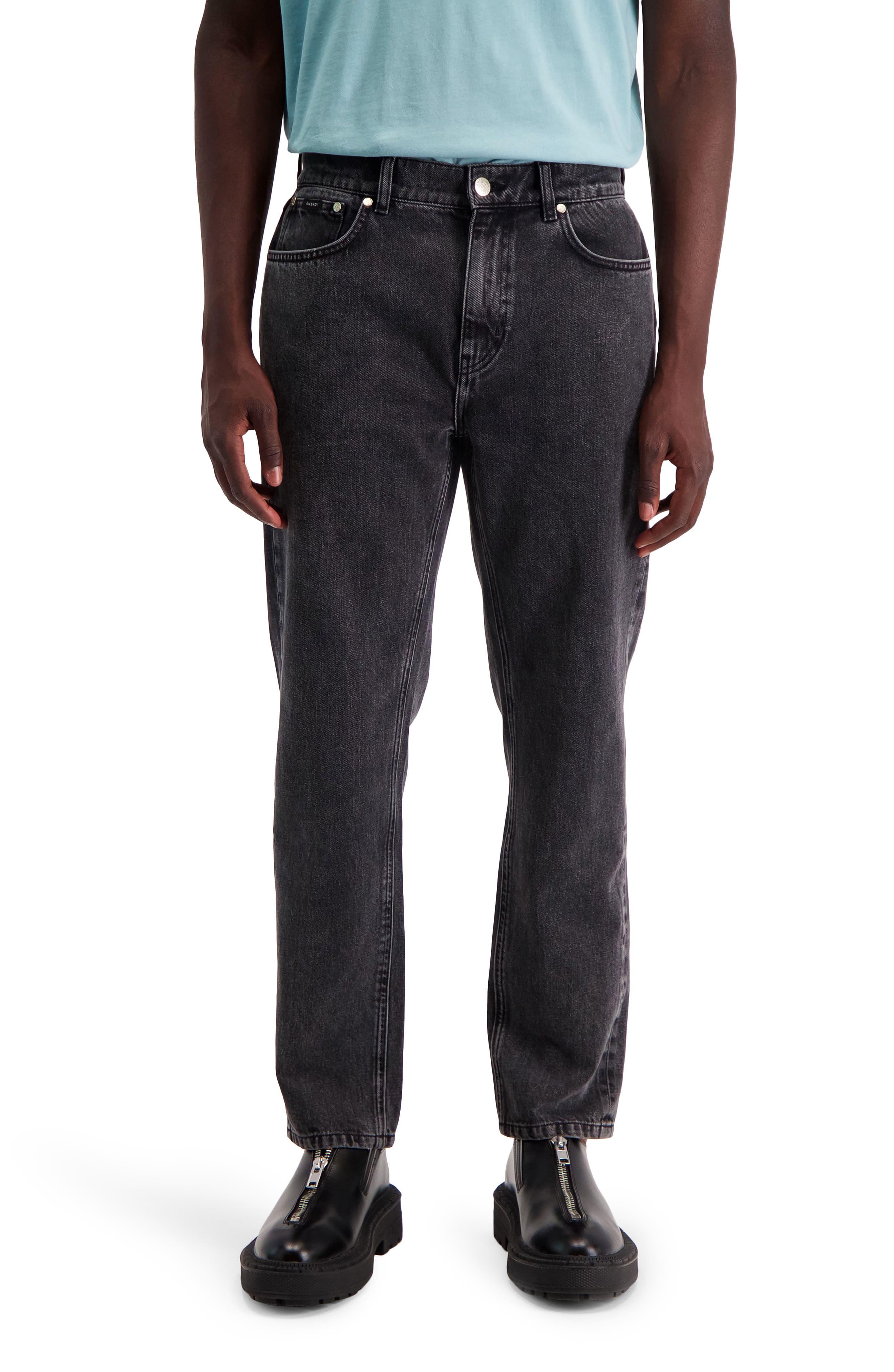 Ake Slim Straight Leg Jeans