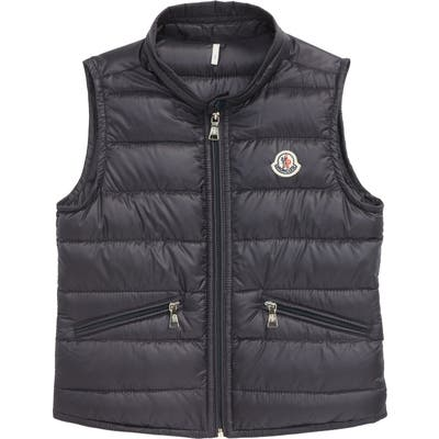 Moncler Water Resistant Quilted Down Nylon Vest
