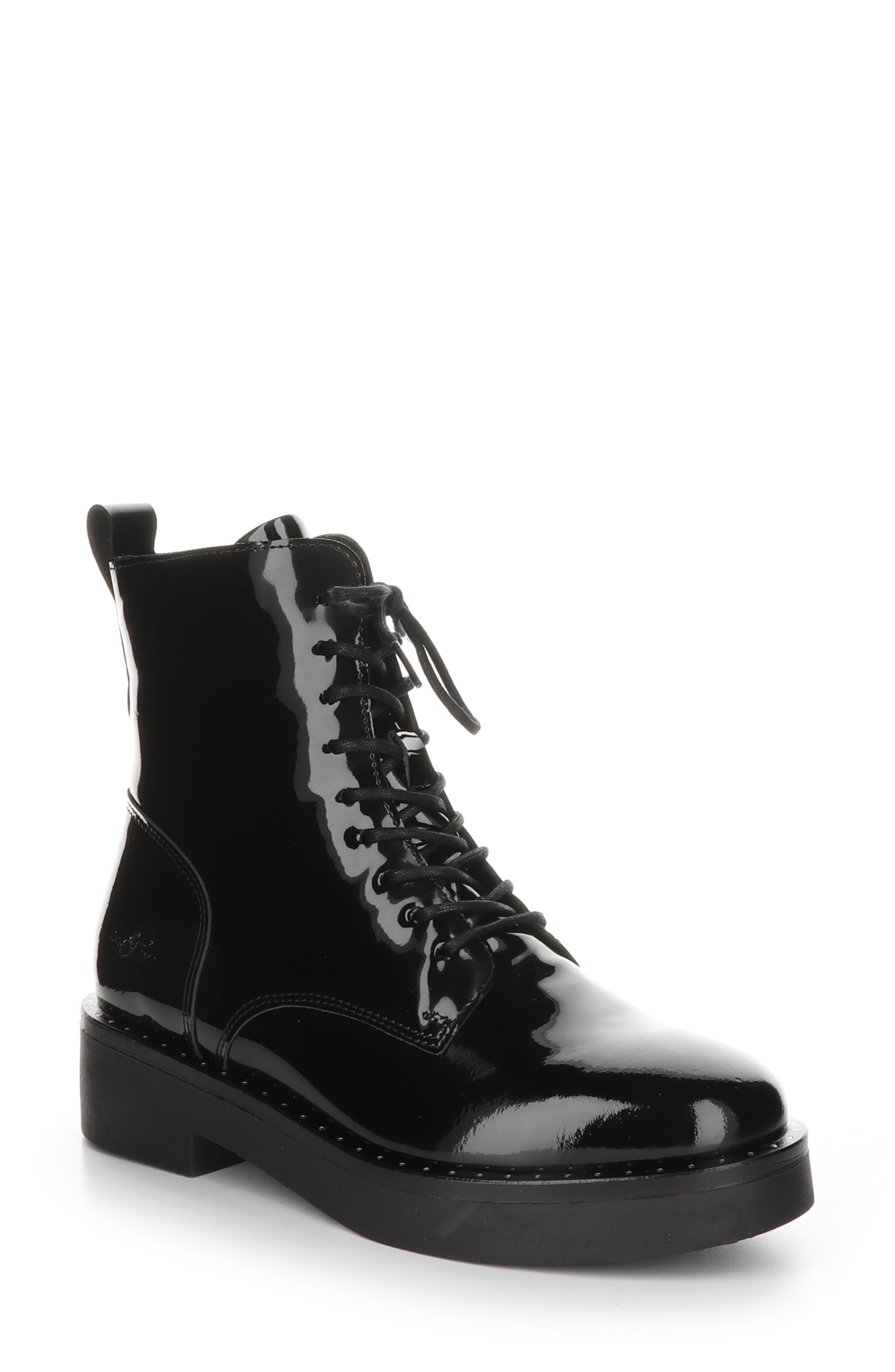 Friend Waterproof Lace-Up Boot