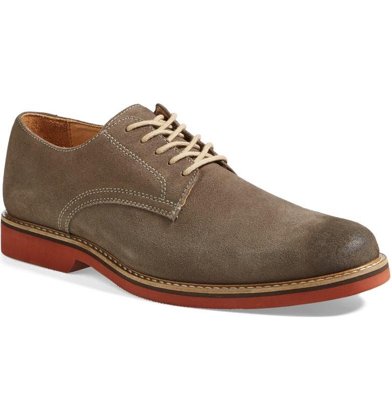 1901 'Larken' Buck Shoe, Main, color, SLATE SUEDE