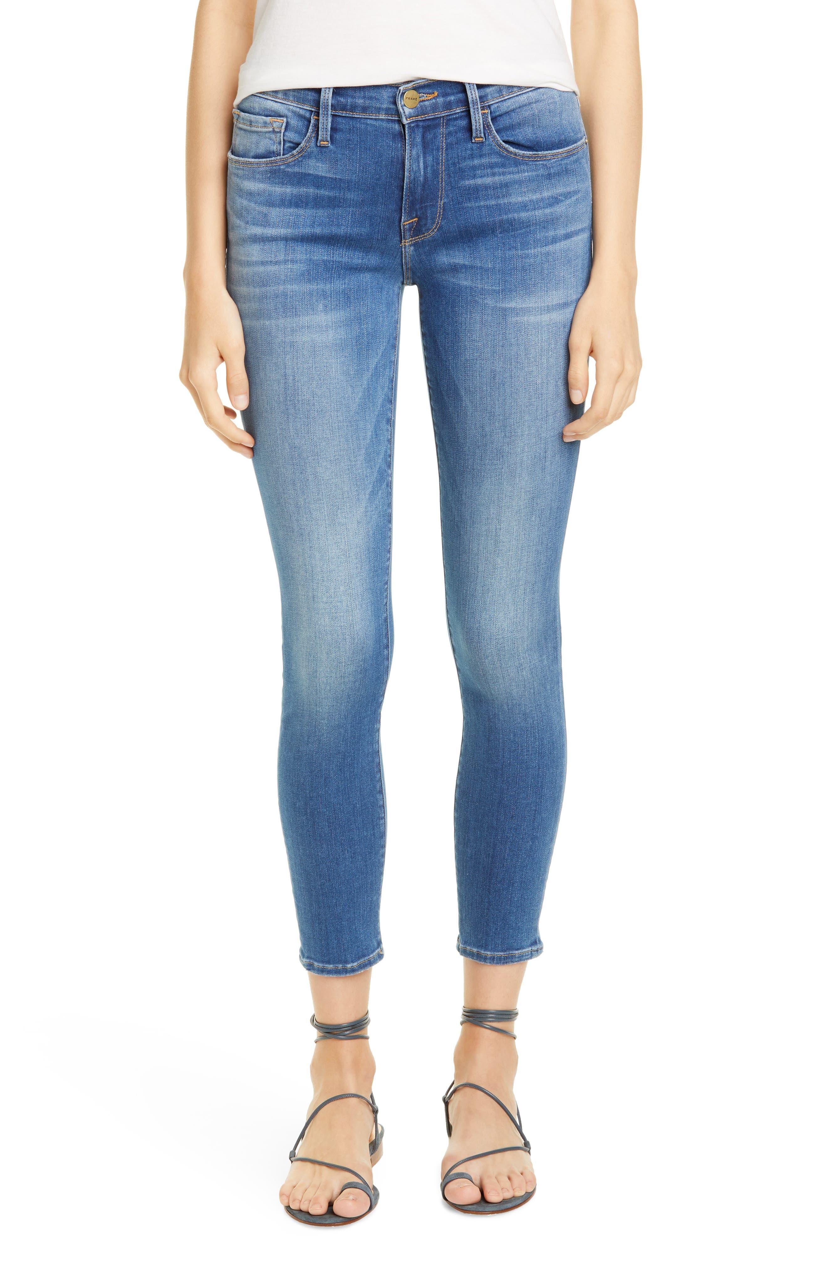 FRAME Le Skinny de Jeanne Crop Jeans (Cantine)