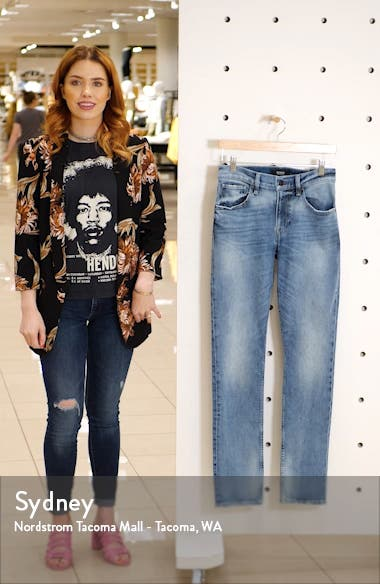 Blake Slim Straight Leg Jeans, sales video thumbnail