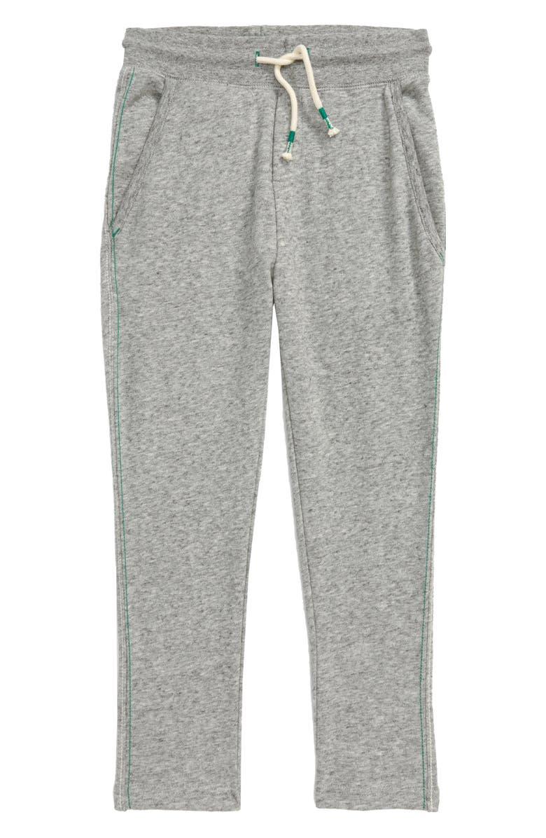 MINI BODEN Essential Jogger Sweatpants, Main, color, MID GREY MARL JASP