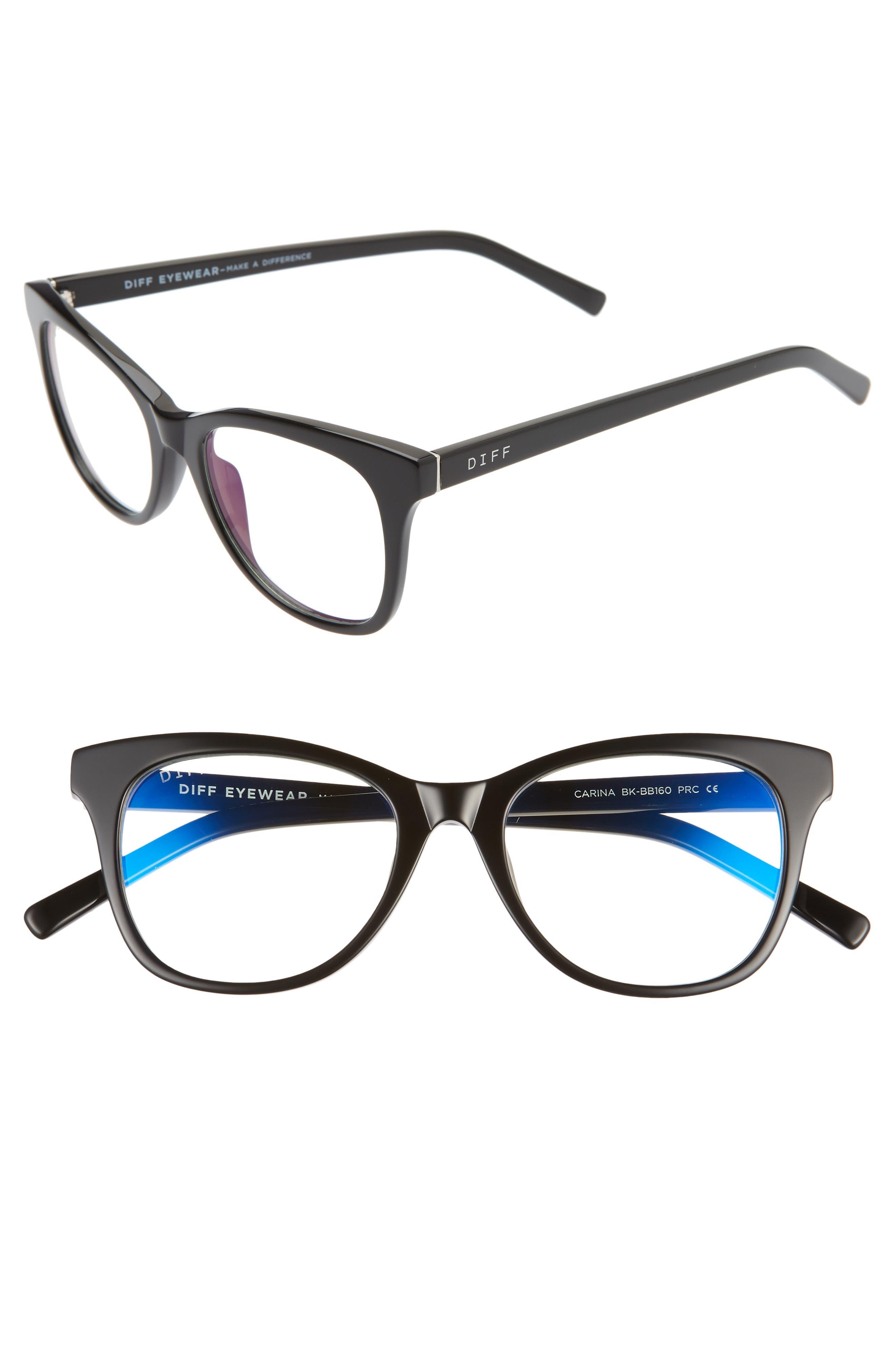 Carina 49mm Blue Light Blocking Optical Glasses