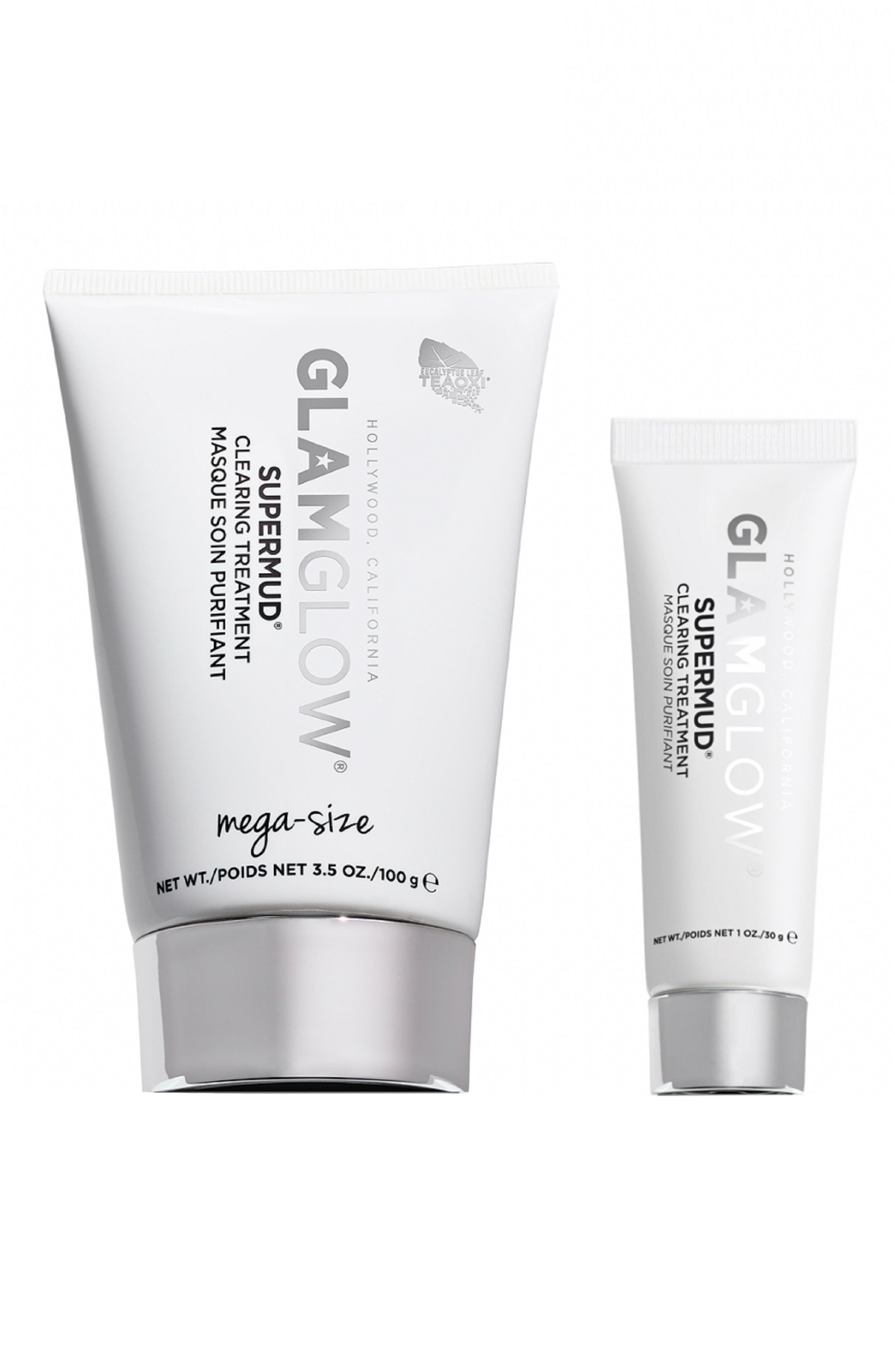 Glamglow Supermud Clearing Treatment Mask Set-$99 Value