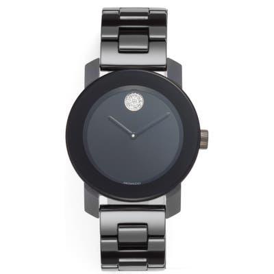 Movado Bold Ceramic Bracelet Watch,