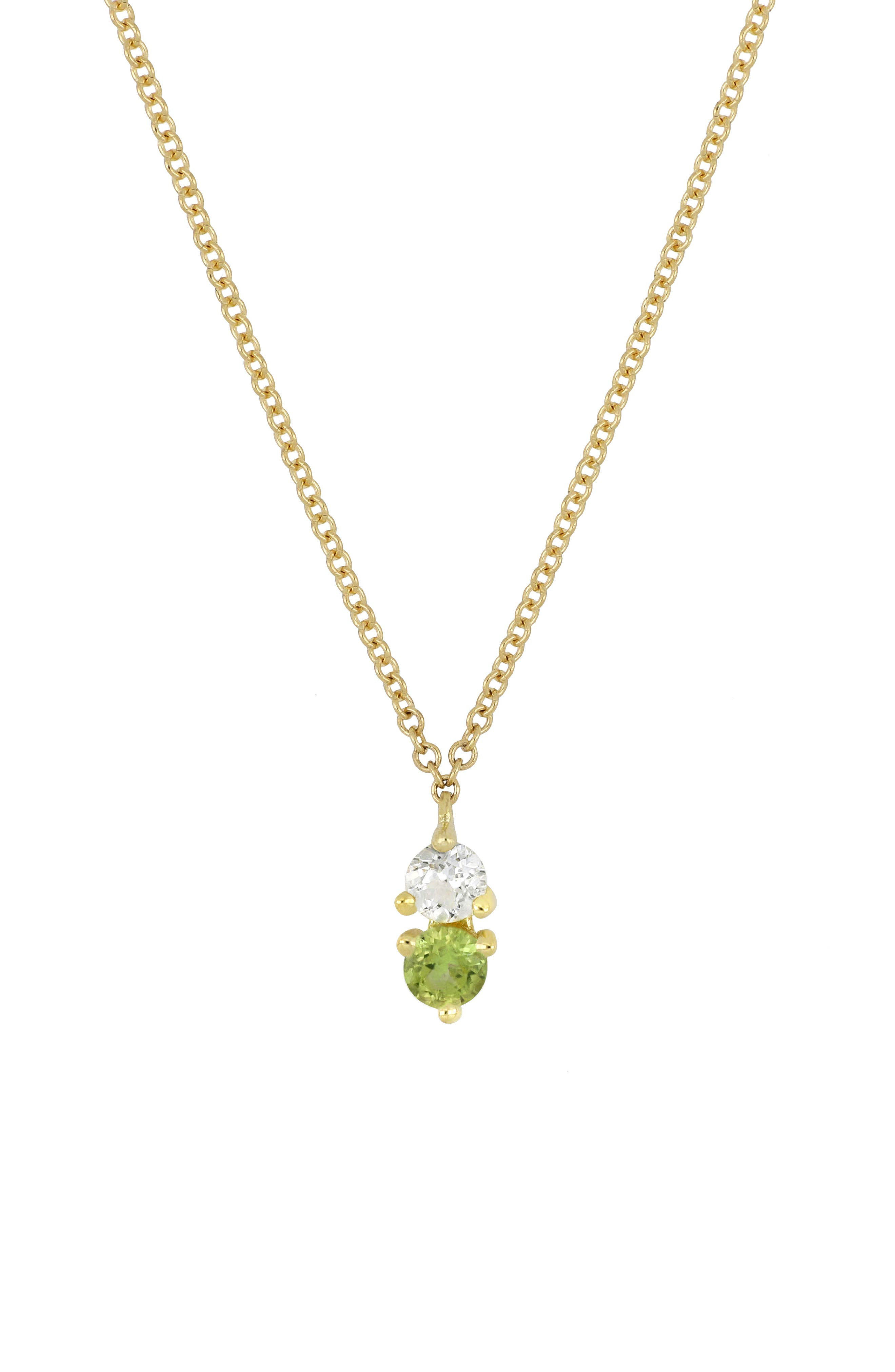 ,                             Birthstone Pendant Necklace,                             Main thumbnail 7, color,                             331