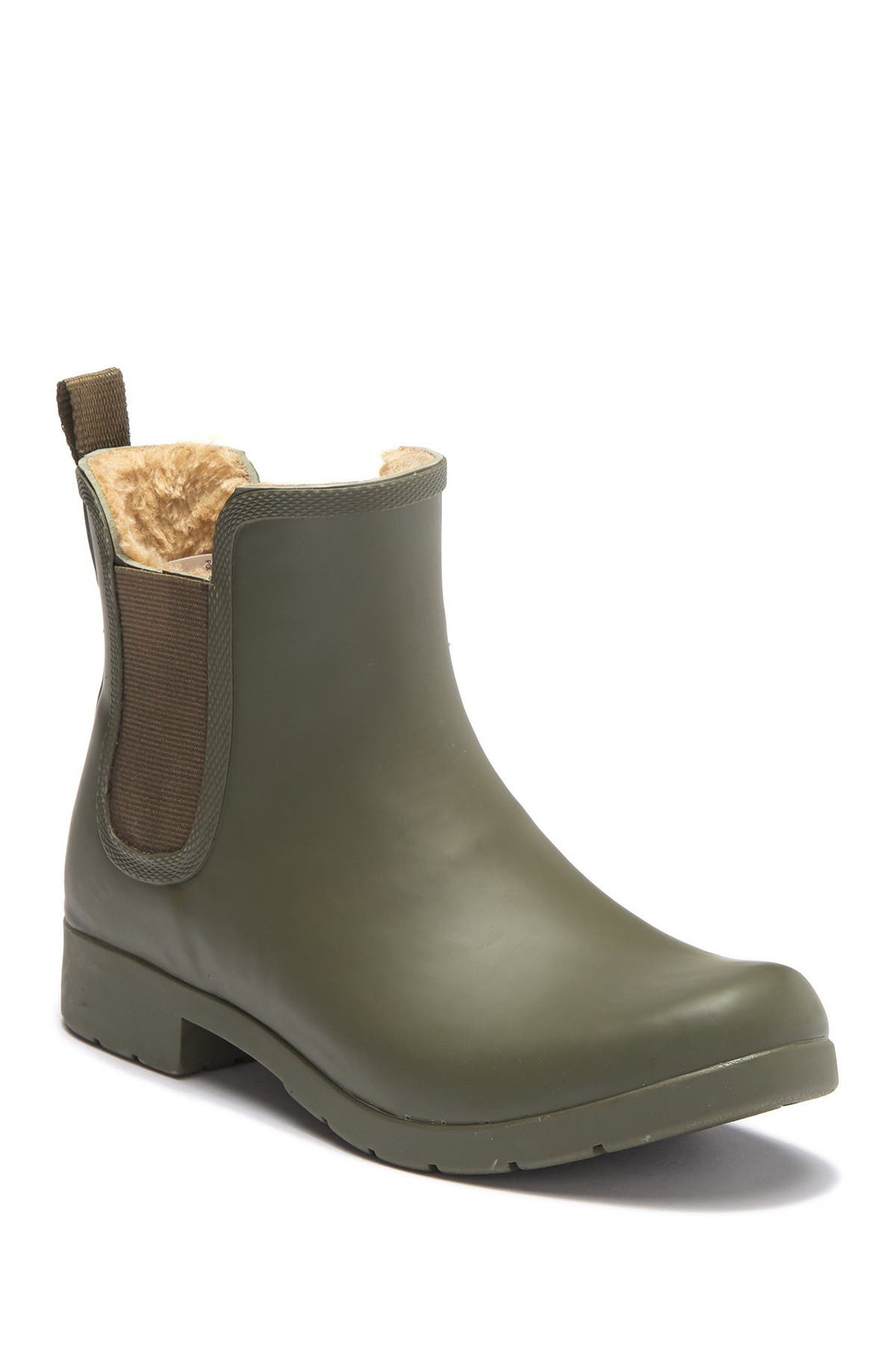 Image of Chooka Eastlake Chelsea Faux Fur Waterproof Boot