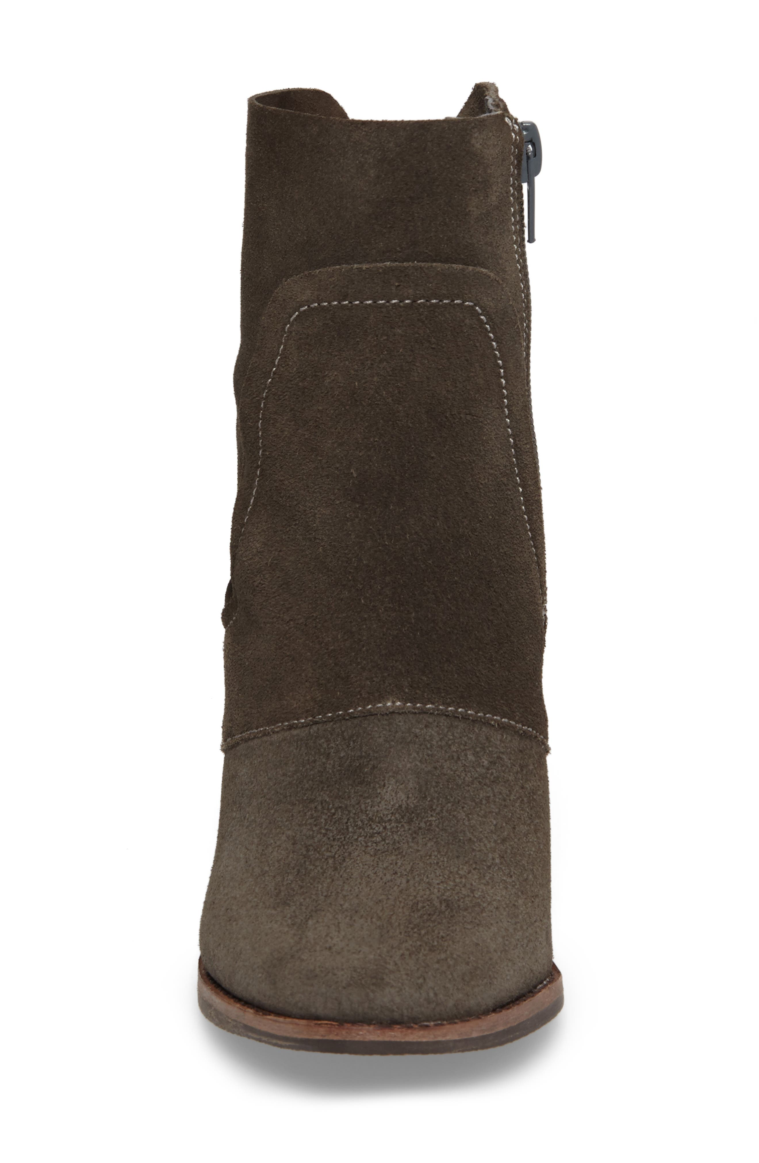,                             Laney Notched Heel Bootie,                             Alternate thumbnail 4, color,                             020