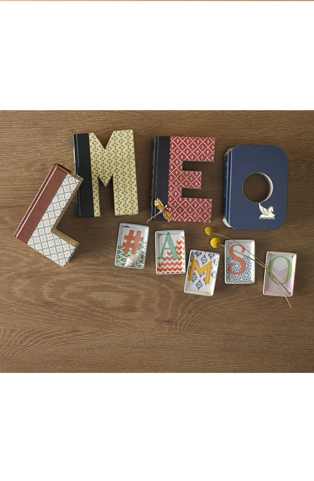 ,                             'One of a Kind Letter' Hand-Carved Recycled Book Shelf Art,                             Alternate thumbnail 2, color,                             200