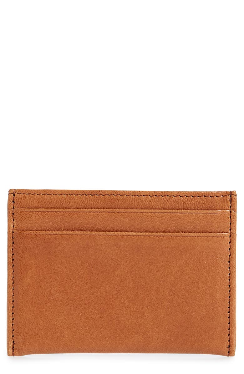 NORDSTROM MEN'S SHOP James Leather Card Case, Main, color, 230