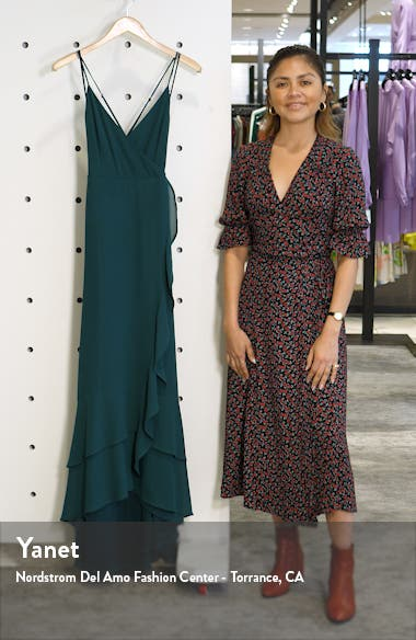 In Love Forever Lace-Up Back Chiffon Gown, sales video thumbnail