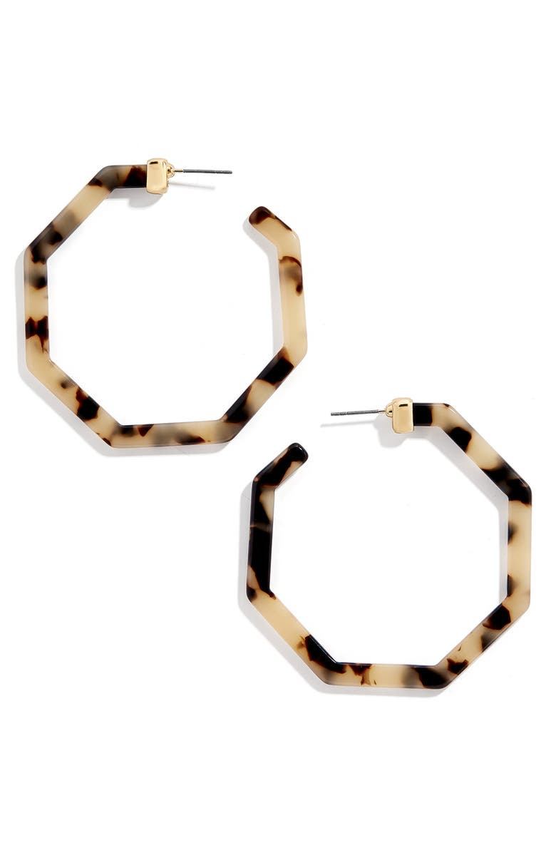 Devri Angular Hoop Earrings by Baublebar
