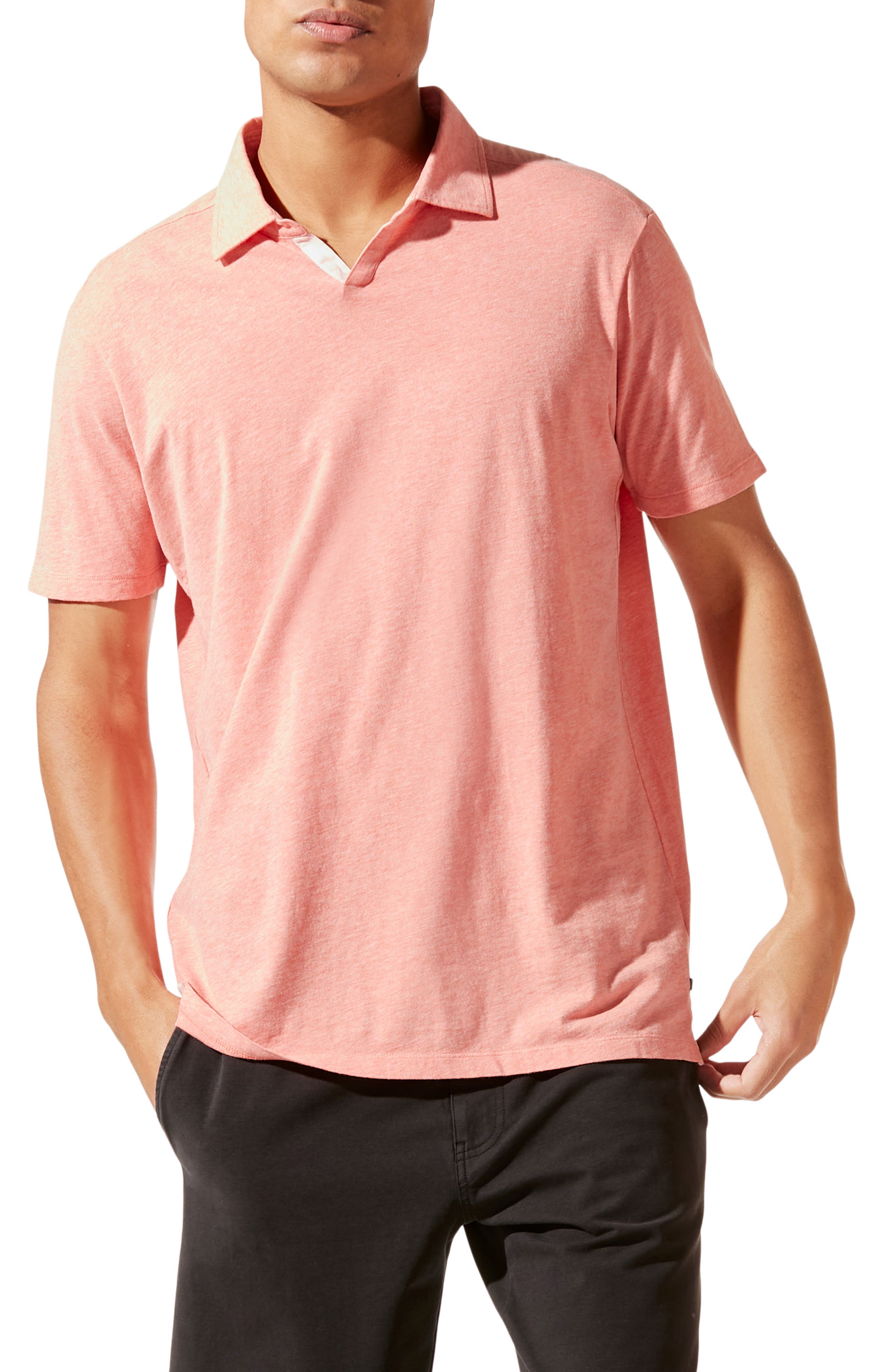 Athletic Slim Fit Short Sleeve Polo