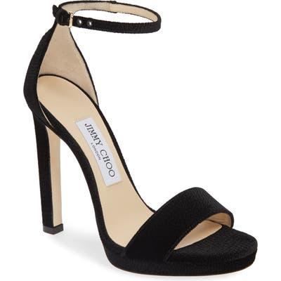Jimmy Choo Misty Platform Sandal, Black