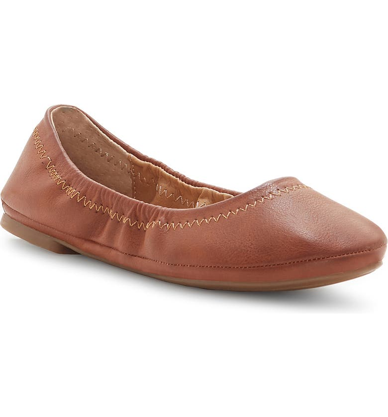 LUCKY BRAND Emmie Flat, Main, color, BOURBON