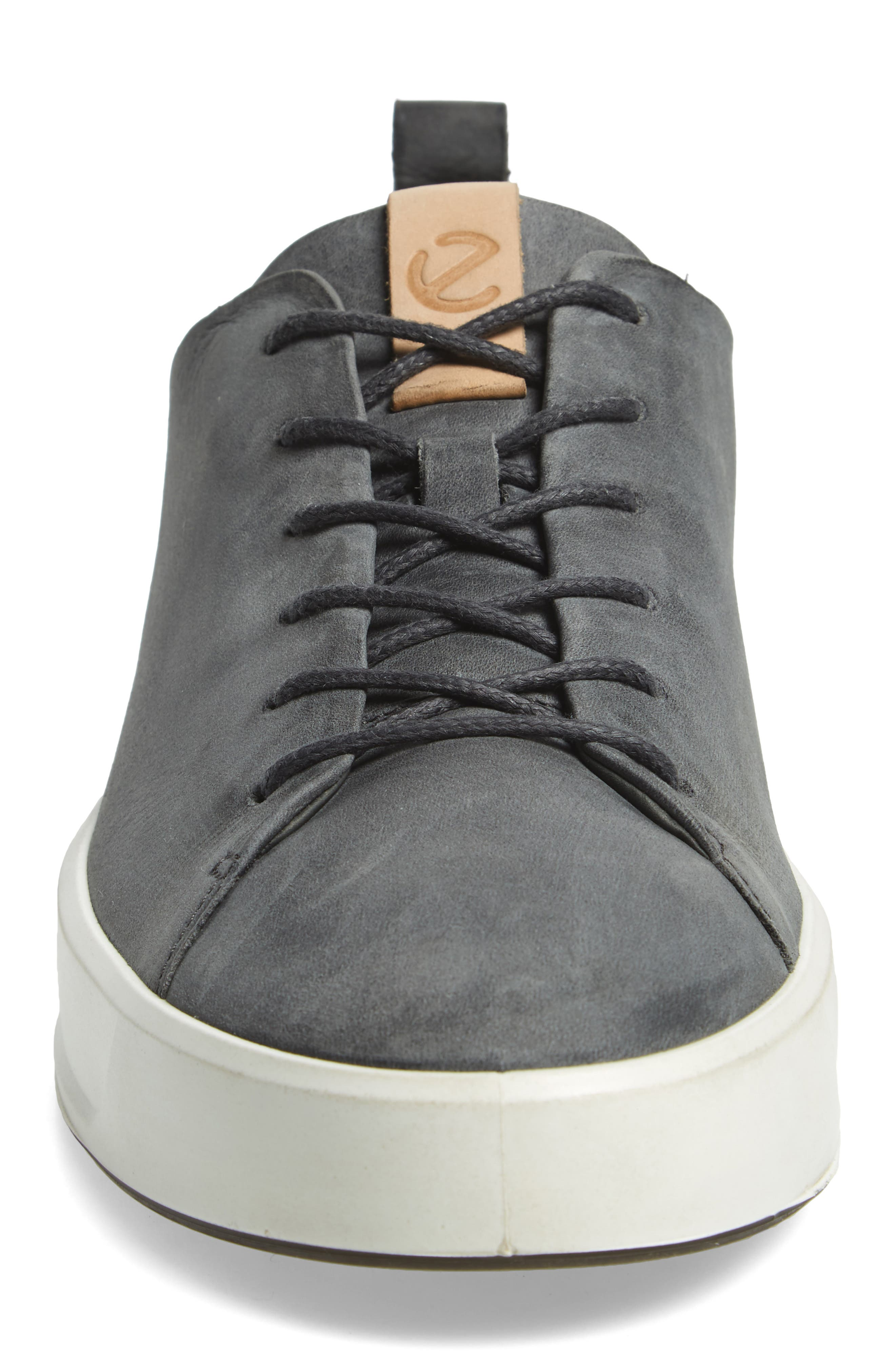 ,                             Soft 8 Sneaker,                             Alternate thumbnail 4, color,                             DARK SHADOW LEATHER