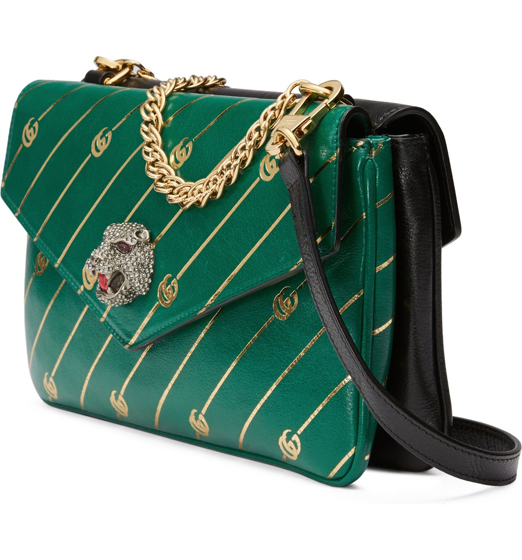 094a20dde510 Gucci Thiara Colorblock Leather Shoulder Bag   Nordstrom