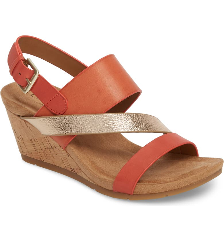 COMFORTIVA Vail Wedge Sandal, Main, color, 950