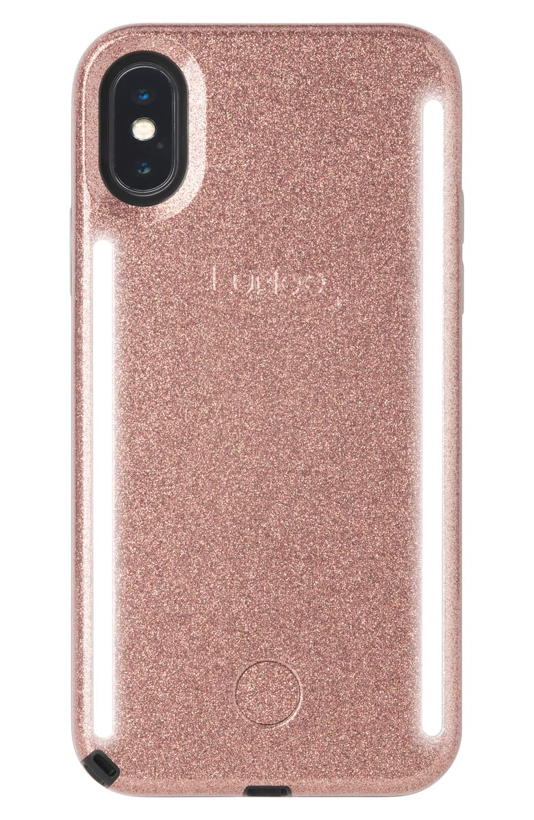 LUMEE Duo LED Lighted iPhone X/Xs, XR & X Max Case, Main, color, 650