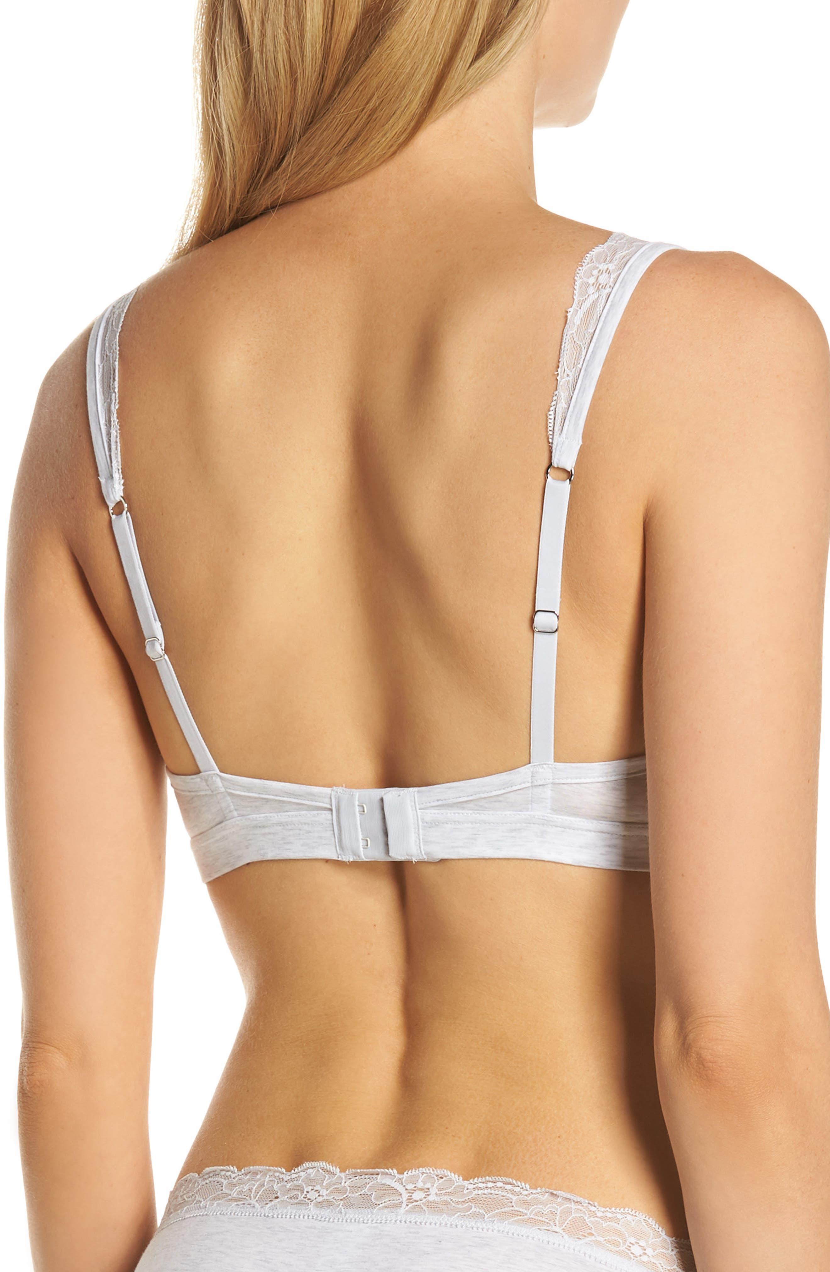 Hanro Accessories Lace Trim Bralette