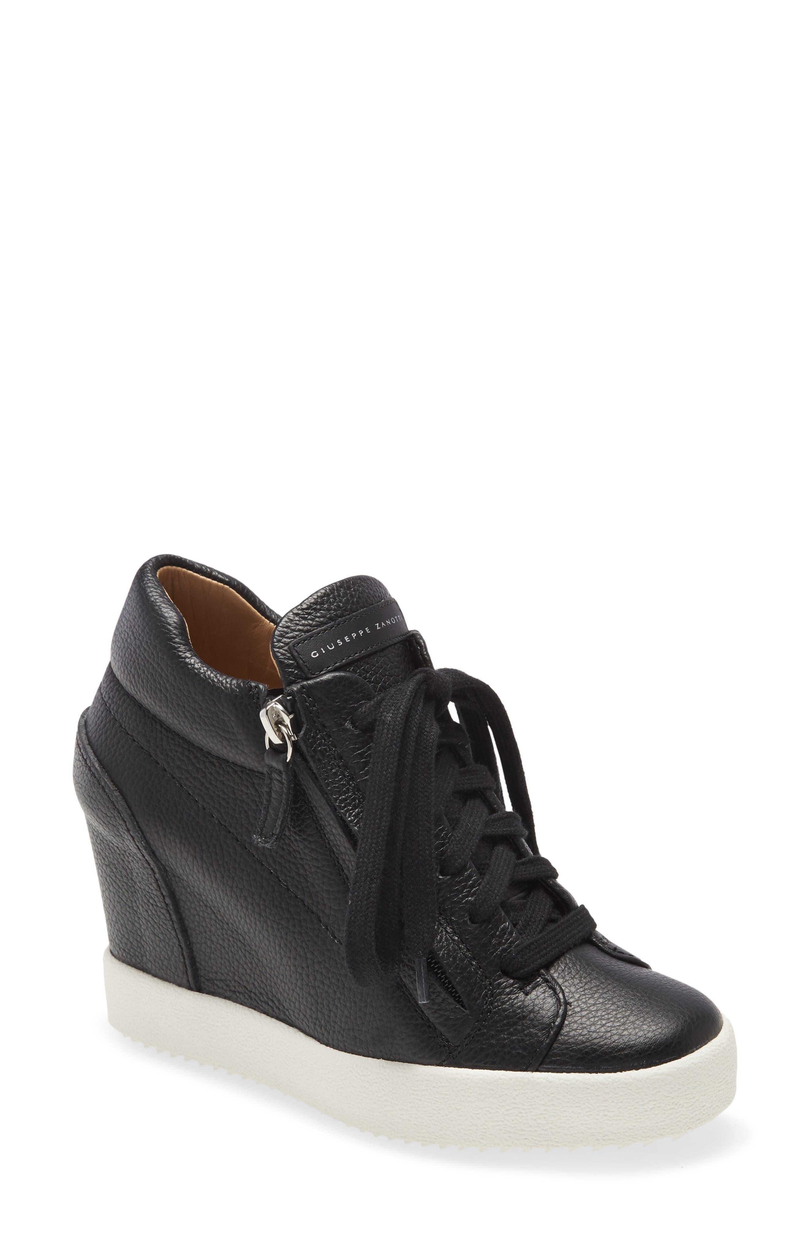 Giuseppe Zanotti High Top Wedge Sneaker