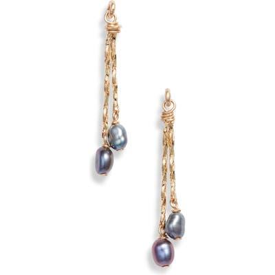 Marida Staccato Pearl Earrings