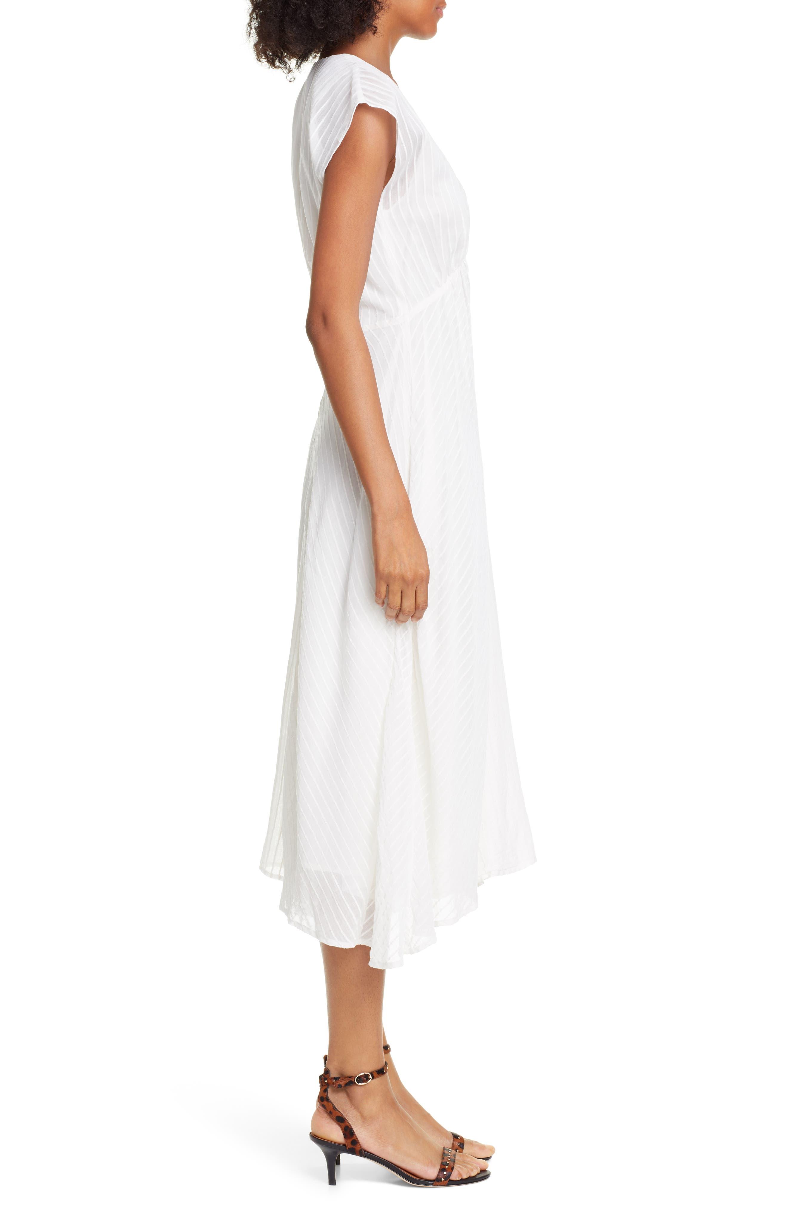 ,                             Shaeryl Midi Dress,                             Alternate thumbnail 4, color,                             PORCELAIN