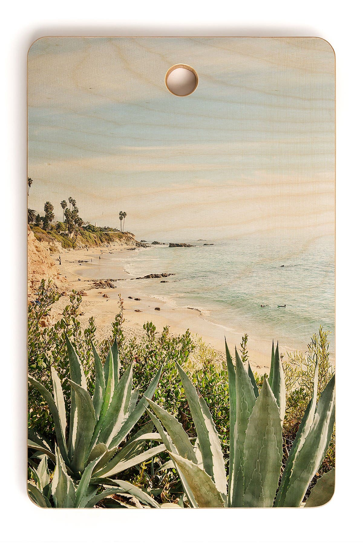 Image of Deny Designs Bree Madden Laguna Coast Rectangle Cutting Board