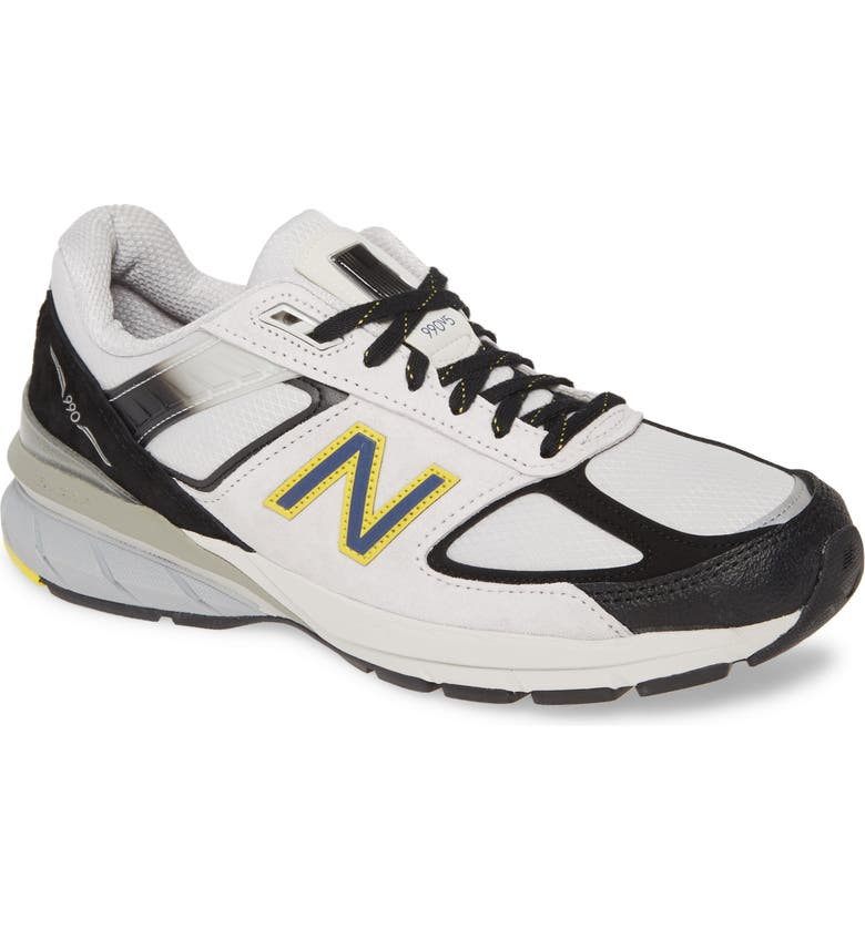 NEW BALANCE 990v5 Made in US Running Shoe, Main, color, SILVER