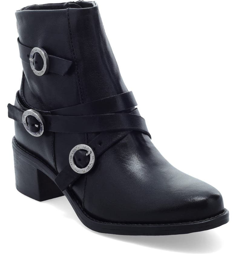MIZ MOOZ Fernando Bootie, Main, color, BLACK LEATHER