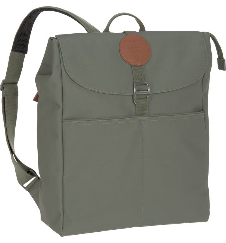LÄSSIG Green Label Adventure Diaper Backpack, Main, color, OLIVE