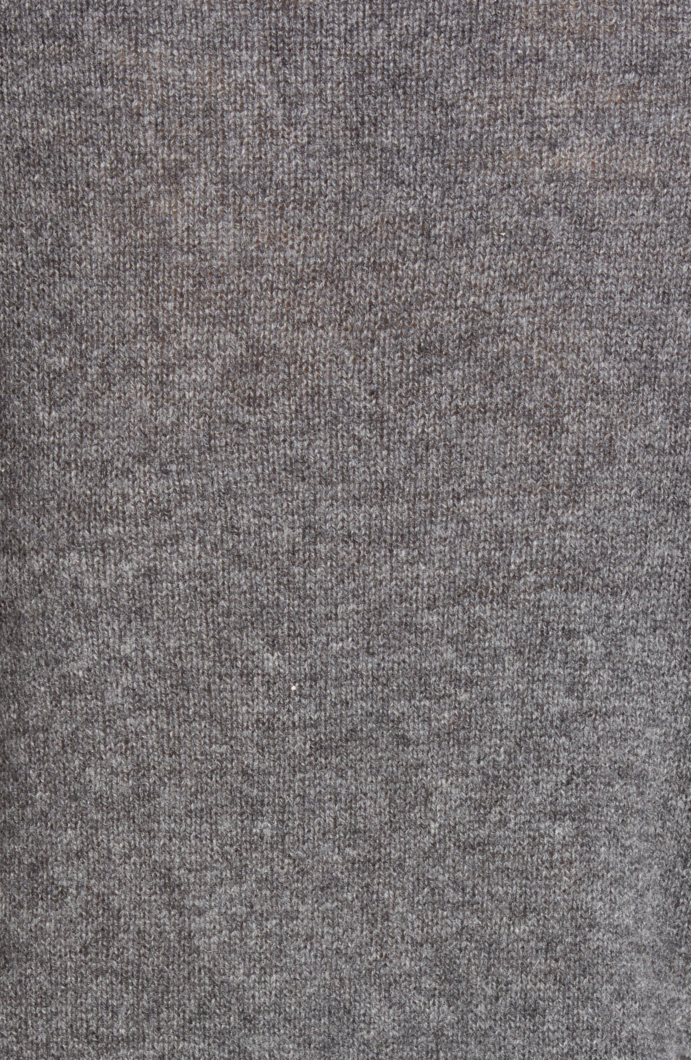 ,                             Viola Cashmere Sweater,                             Alternate thumbnail 6, color,                             GREY