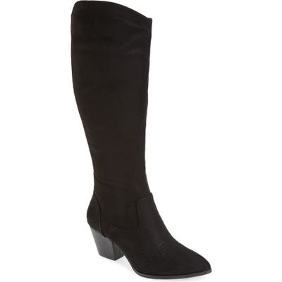 Bella Vita Evelyn Ii Knee High Boot, Black