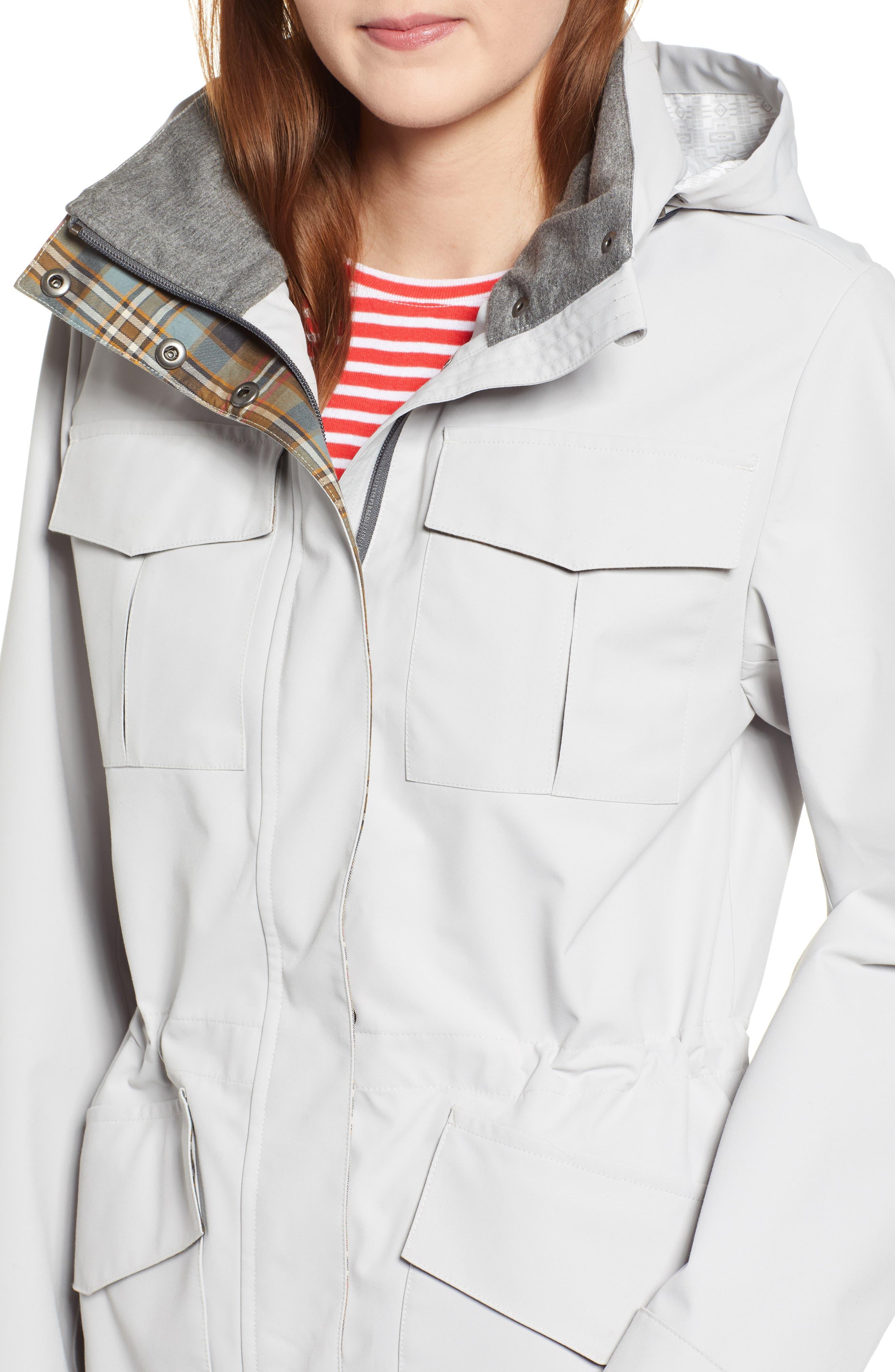 ,                             Lihn Hooded Utility Jacket,                             Alternate thumbnail 5, color,                             ALUMINUM