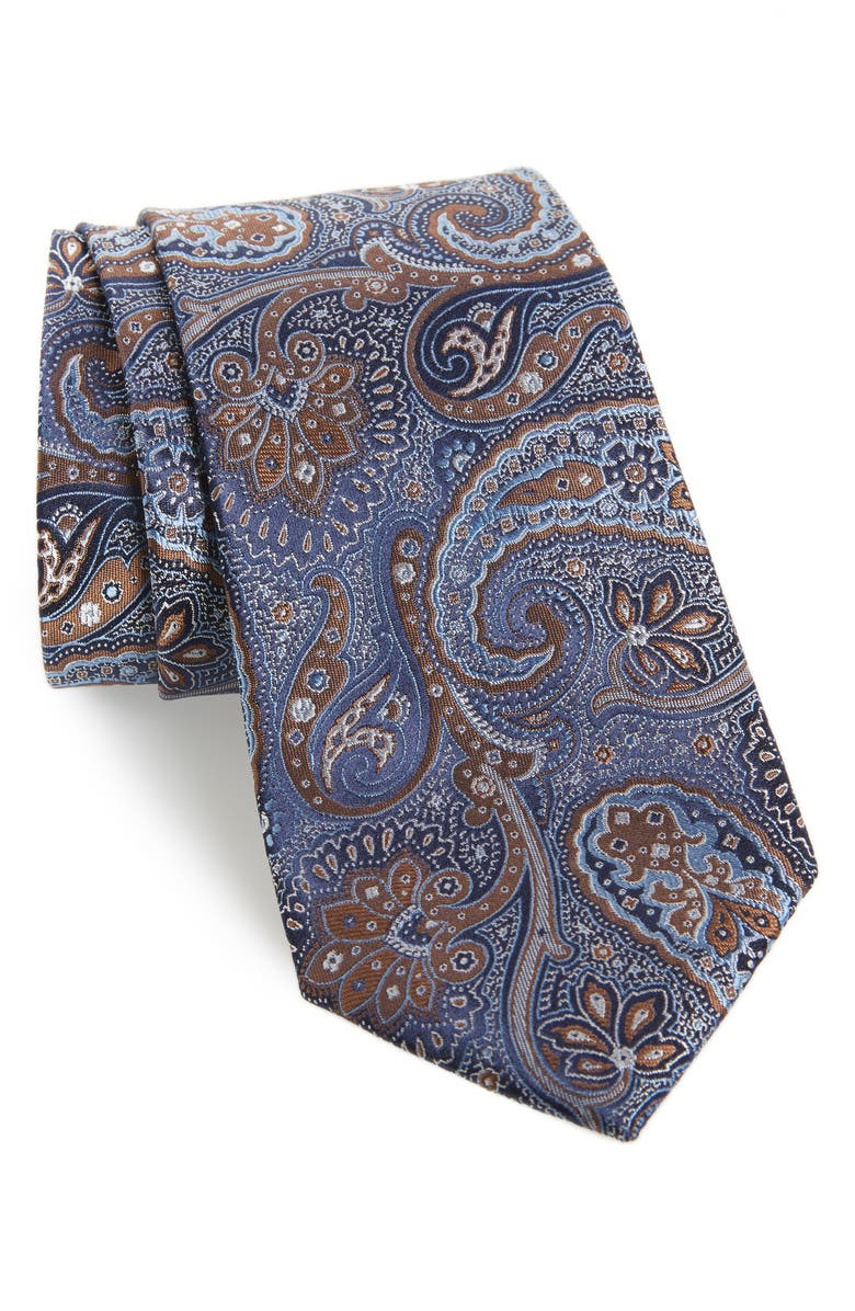 NORDSTROM MEN'S SHOP Latimer Paisley Silk Tie, Main, color, 200