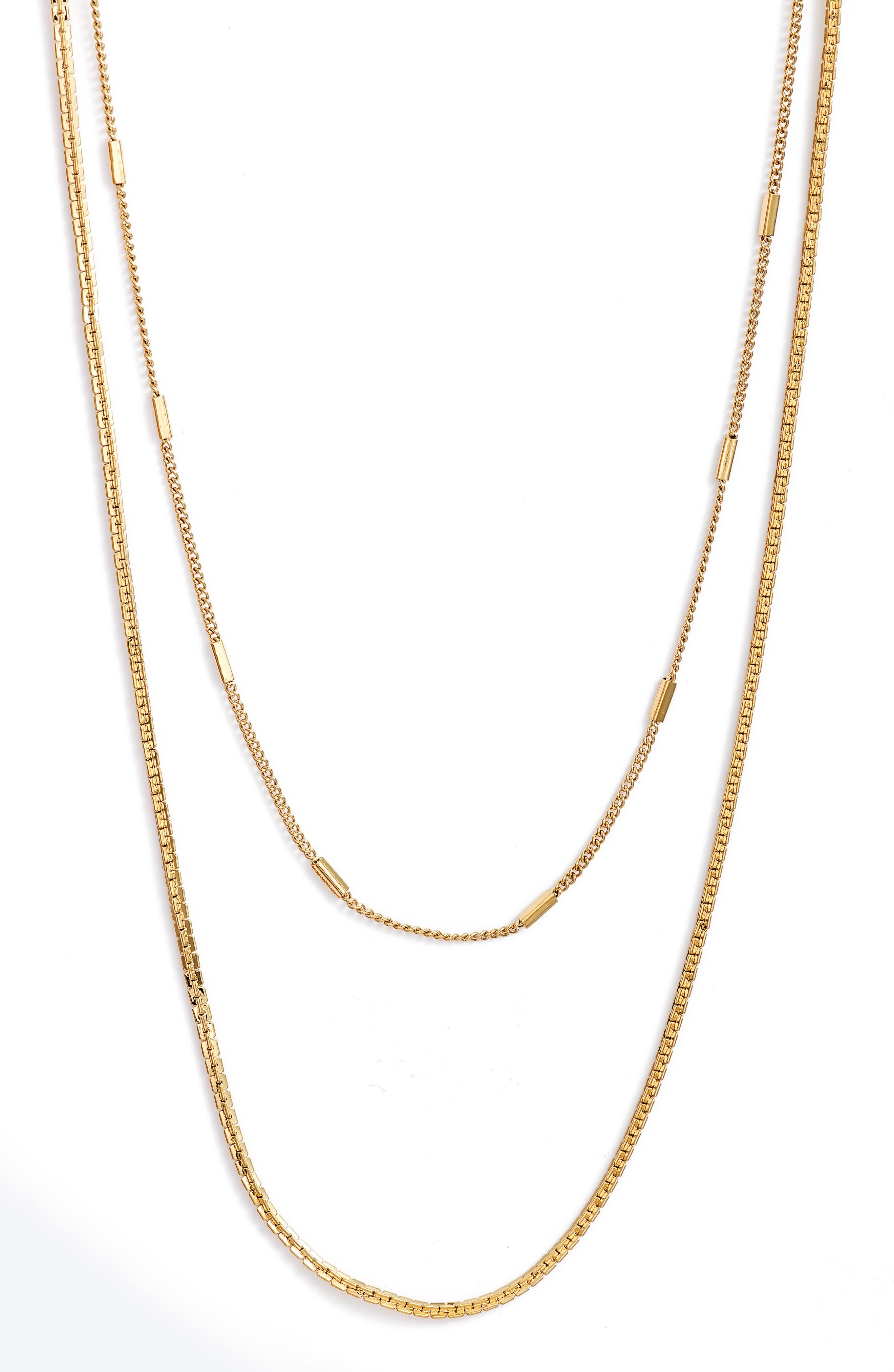 Surfside Layered Chain Necklace