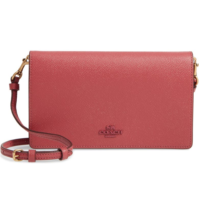 COACH Hayden Convertible Leather Crossbody Bag, Main, color, 688