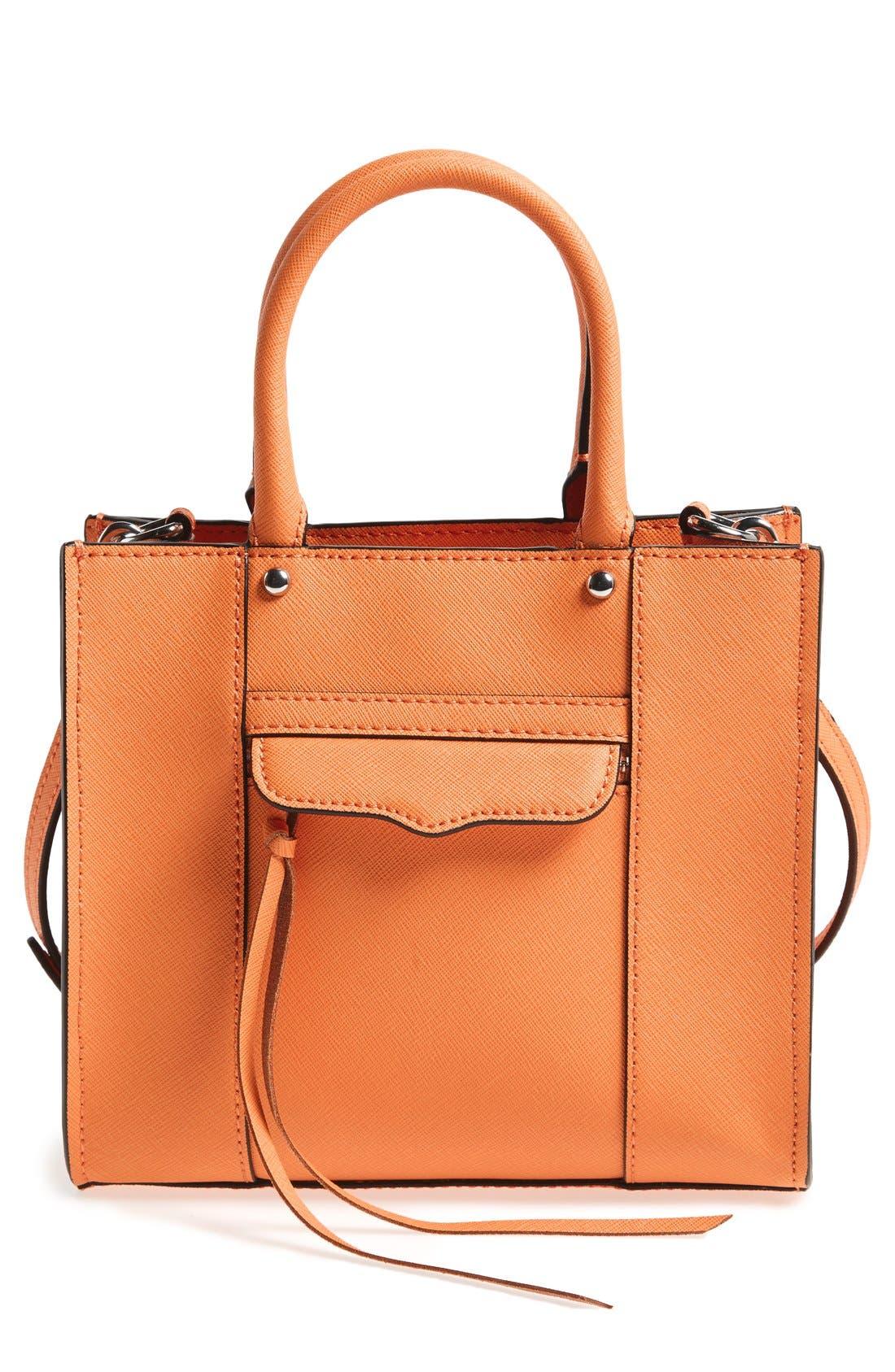 ,                             'Mini MAB Tote' Crossbody Bag,                             Main thumbnail 136, color,                             800