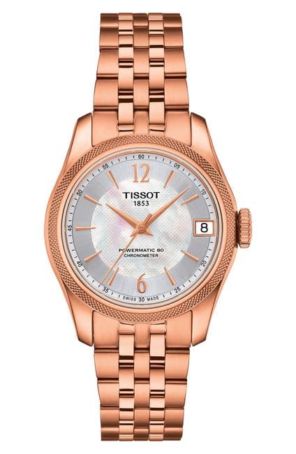 Image of Tissot Women's Ballade Mother of Pearl Bracelet Watch, 34mm
