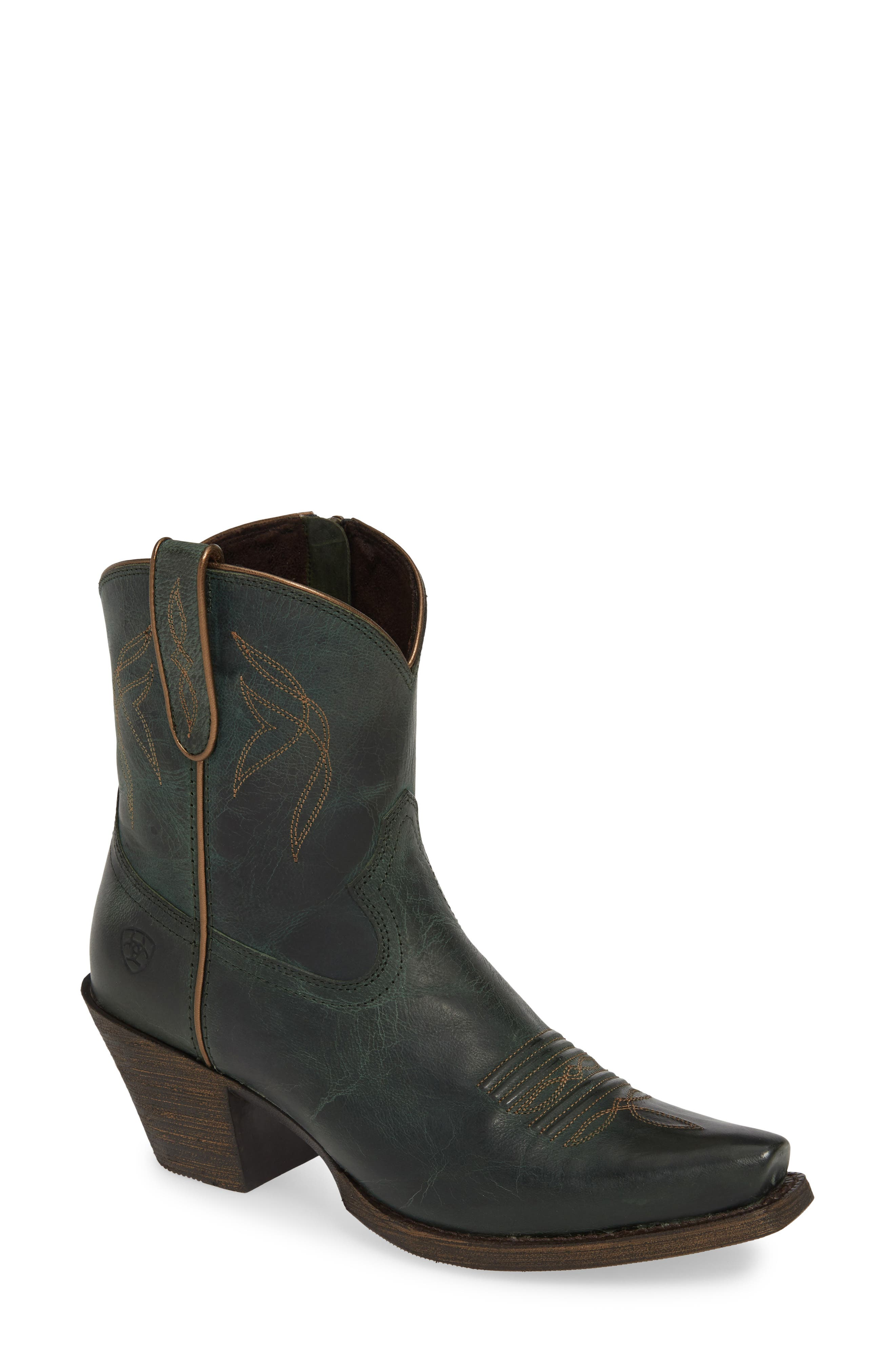 Ariat Lovely Western Boot, Green