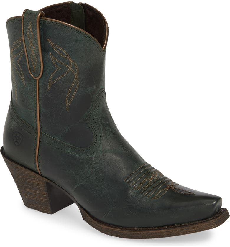 ARIAT Lovely Western Boot, Main, color, BLUE GRASS LEATHER