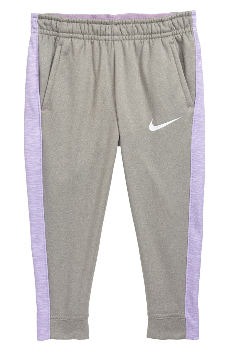 NIKE Therma Dri-FIT Sweatpants, Main, color, DK GREY HEATHER