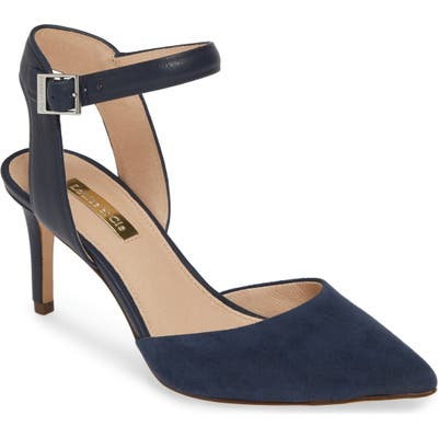 Louise Et Cie Kota Ankle Strap Pump, Blue