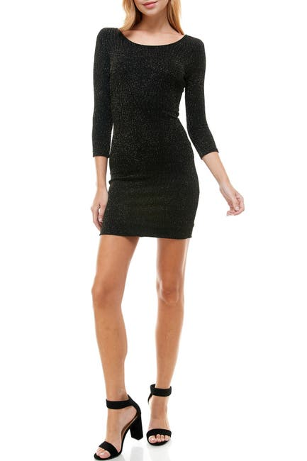 Image of ROW A Open Back Bodycon Dress
