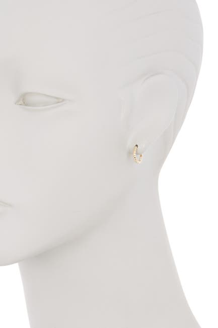 Image of KARAT RUSH 14K Gold Huggie Earrings