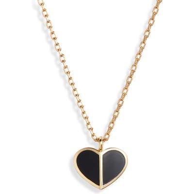 Kate Spade New York Heritage Spade Mini Heart Pendant Necklace