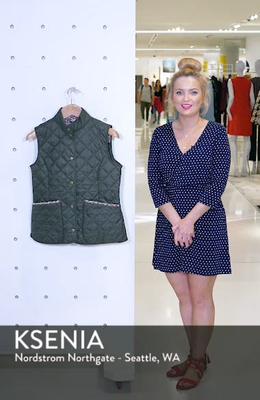 x Liberty Camila Quilted Vest, sales video thumbnail