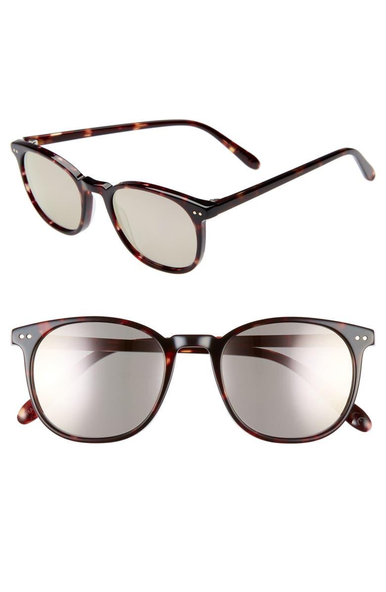 MADEWELL Northside 50mm Sunglasses, Main, color, 200