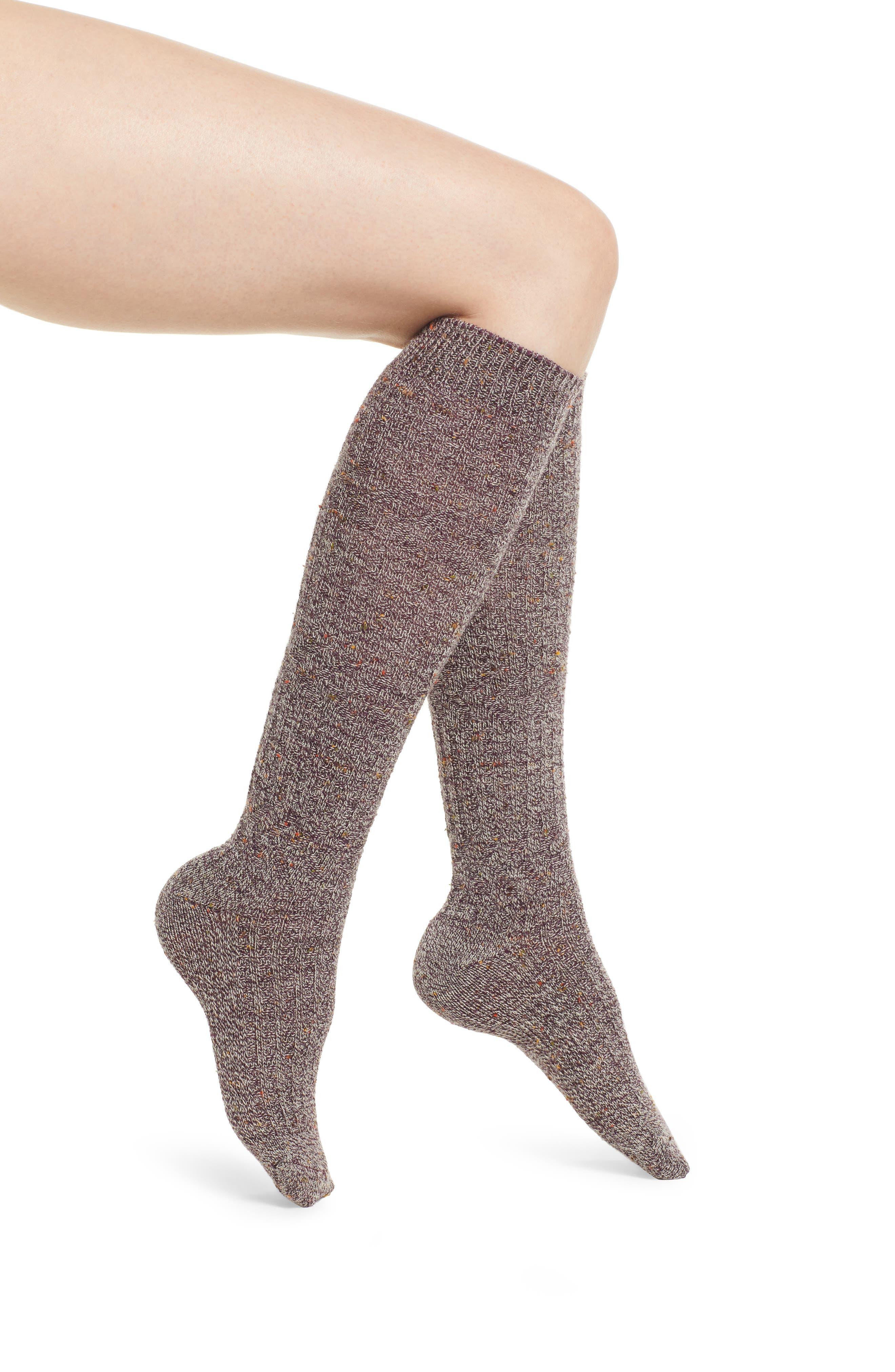 Image of SmartWool Wheat Fields Wool Blend Knee-High Socks